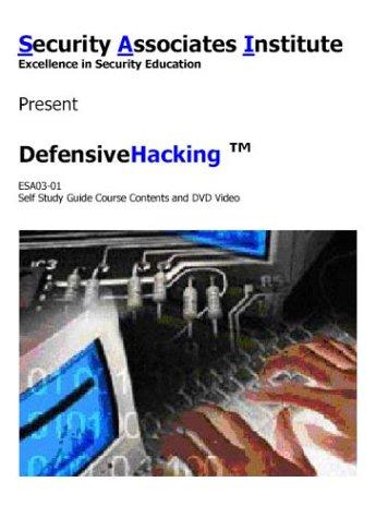 9780954675806: Defensive Hacking Self Study Guide