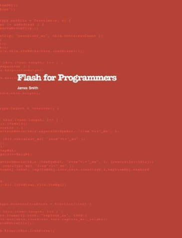 9780954706609: Flash for Programmers