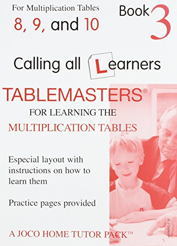 9780954714321 Tablemasters Book 3 For Learning The Multiplication