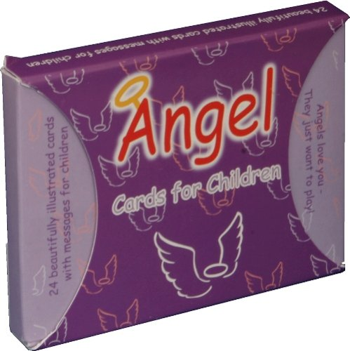 9780954715410: Angel Oracle Cards for Children: A set of 24 angel cards cards assisting children with questions they may have about angels in a light hearted and fun way.