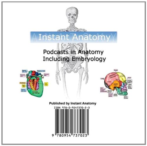9780954737023: Podcasts in Anatomy Including Embryology