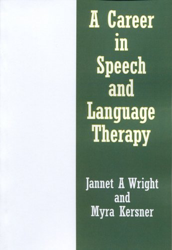9780954745707: A Career in Speech and Language Therapy