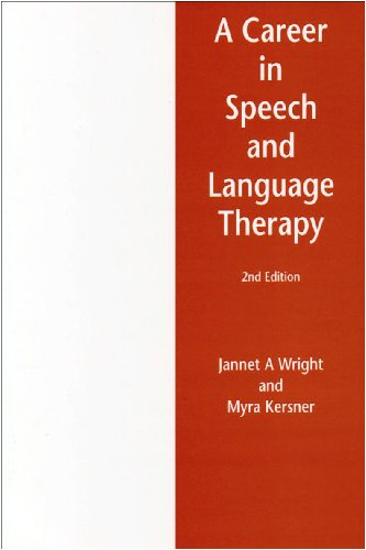 9780954745714: A Career in Speech and Language Therapy