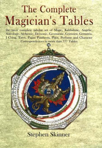 9780954763978: Complete Magician's Tables