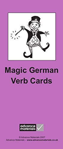 9780954769543: Magic German Verb Cards Flashcards (8): Speak German more fluently! (German Edition)