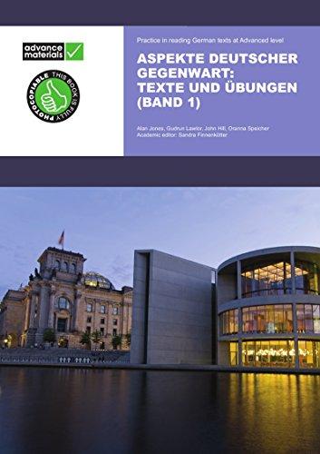 Aspekte Deutscher Gegenwart Practice Book 1 (Paperback): Alan Jones