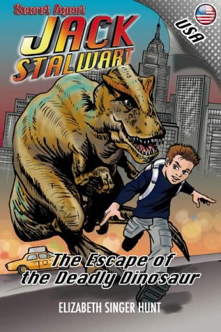 9780954791919: Secret Agent Jack Stalwart... The Escape of the Deadly Dinosaur