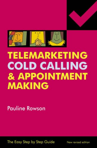 9780954804503: Telemarketing, Cold Calling and Appointment Making