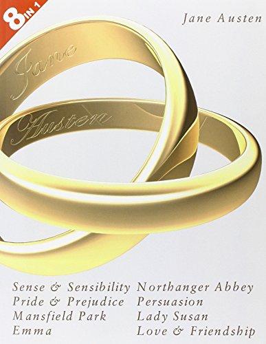 8 Books in 1: Jane Austen's Complete: Austen, Jane