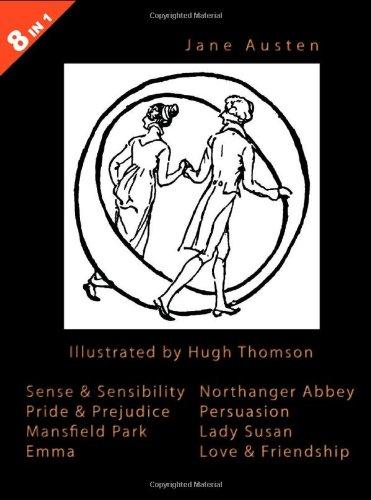 Jane Austen - 8 Books In 1: Jane Austen; Illustrator-Hugh