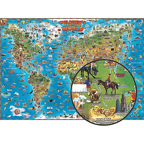 9780954840501: Children's Map of the World