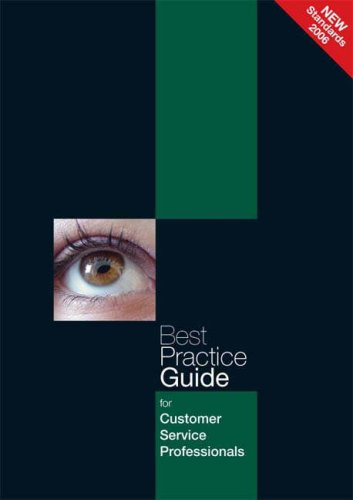 9780954874414: Best Practice Guide for Customer Service Professionals (Customer Service Best Practice Guides)