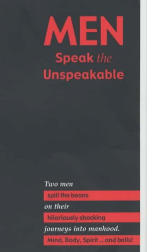 9780954909505: Men Speak the Unspeakable
