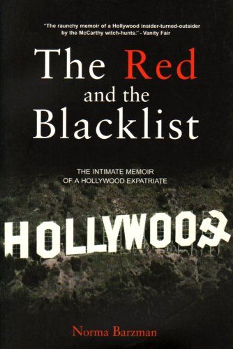 9780954950750: The Red and the Blacklist: The Intimate Memoir of a Hollywood Expatriate