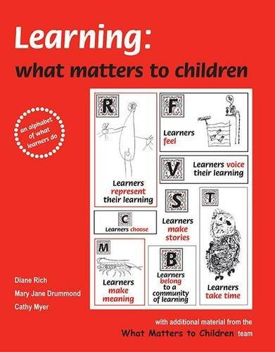 9780954968311: Learning: What Matters to Children: An Alphabet of What Learners Do