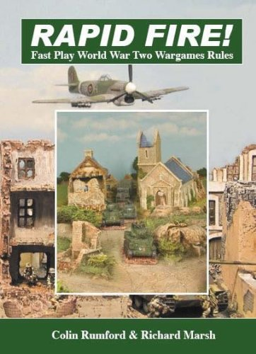 9780955006302: Rapid Fire! - Fast Play Rules for World War II (2nd Edition) VG+