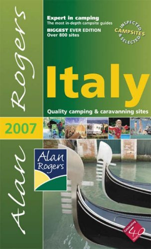 9780955048678: Alan Rogers Italy: Quality Camping and Caravanning Sites