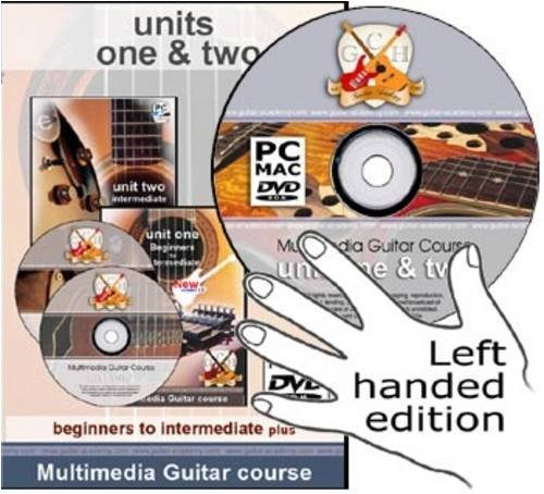 9780955085642: GCH Guitar Academy, Left Handed Guitar Course: Years 1 and 2 - Beginners to Intermediate Plus