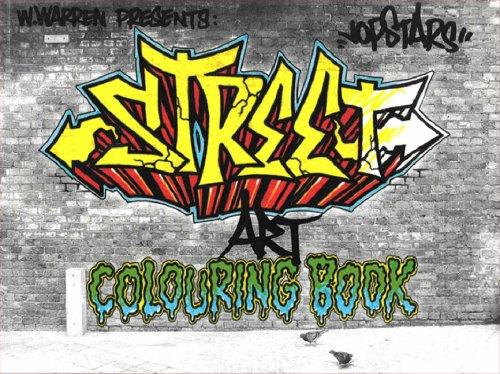 9780955089367: Street Art Colouring Book