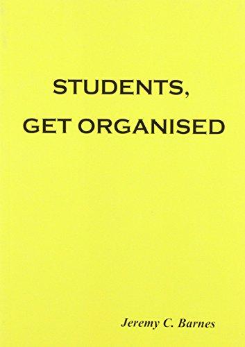 9780955102806: Students, Get Organised