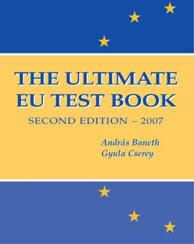 9780955114489: The Ultimate EU Test Book