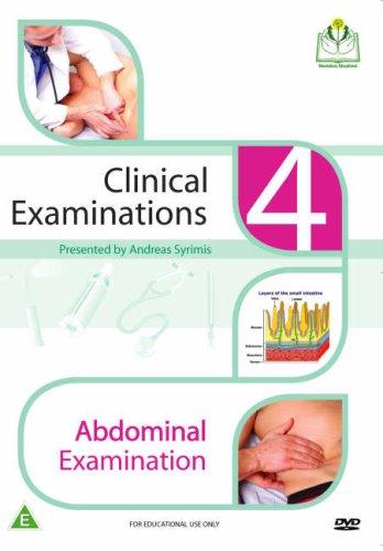 Abdominal Examination (Clinical Examinations DVD Series): Syrimis, Andreas
