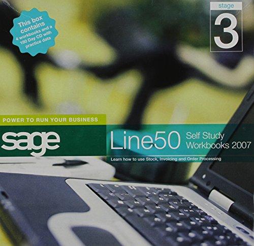 9780955133565: Sage Line 50 2007 Self Study Workbooks 2007: Stage 3