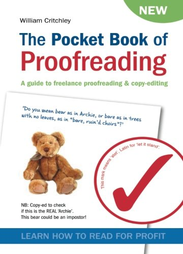 9780955143724: The Pocket Book of Proofreading: A guide to freelance proofreading & copy-editing