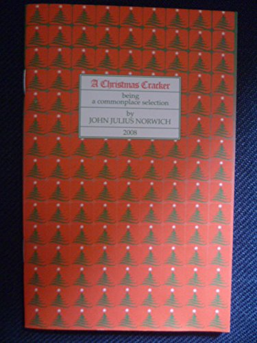 9780955167027: A Christmas Cracker: Being a Commonplace Selection