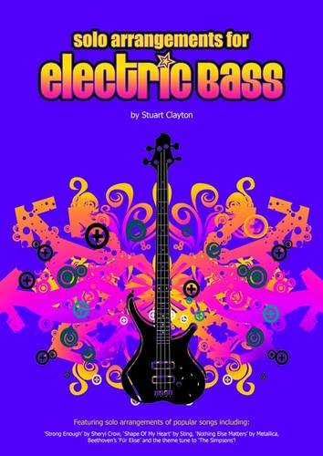 9780955171390: Solo Arrangements for Electric Bass