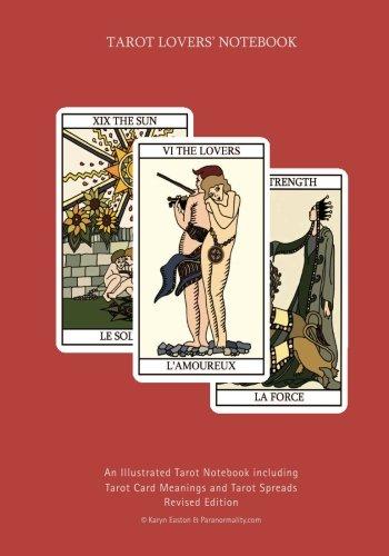 9780955249754: Tarot Lovers Notebook