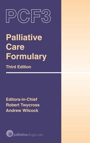 9780955254710: Palliative Care Formulary