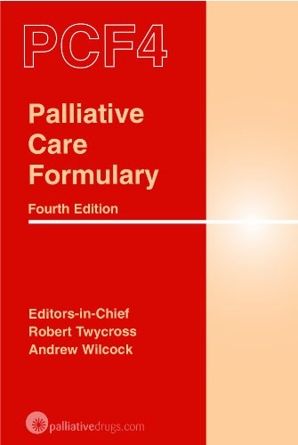 9780955254758: Palliative Care Formulary (PCF4)