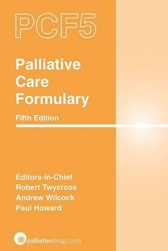 9780955254796: Palliative Care Formulary (PCF5)