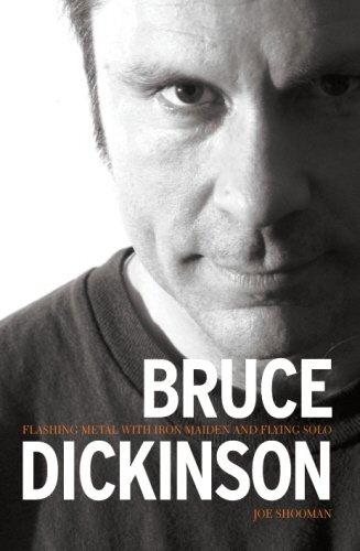 9780955282249: Bruce Dickinson : Flashing Metal With Iron Maiden And Flying Solo