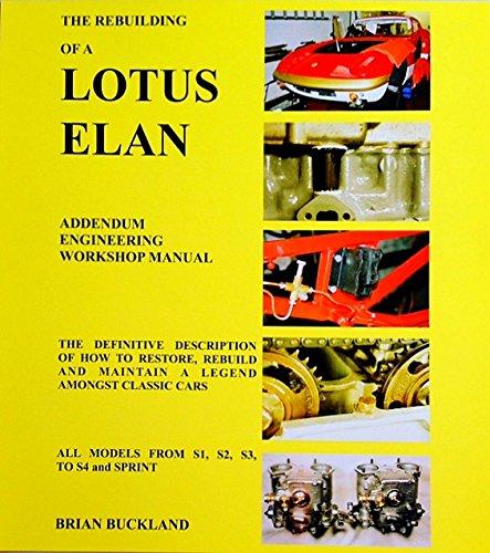 9780955284908: The Rebuilding of a Lotus Elan
