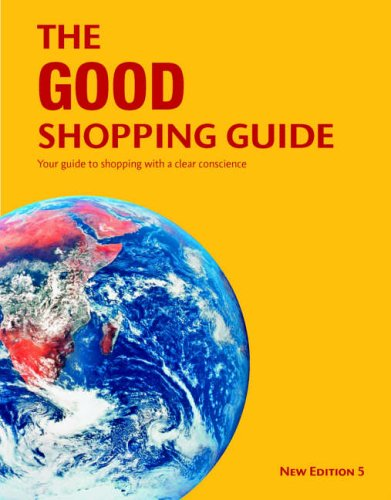 9780955290701: Good Shopping Guide: Your Guide to Shopping with a Clear Conscience