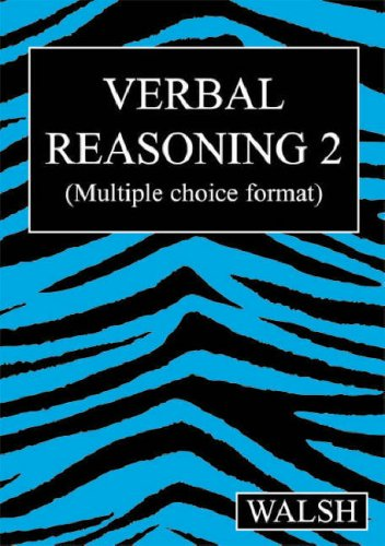 Verbal Reasoning 2: Walsh, Mary; Walsh, Barbara