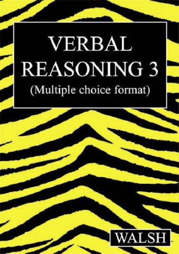 Verbal Reasoning 3: Bk. 3: Mary Walsh