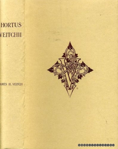 9780955351501: Hortus Veitchii: A History of the Rise and Progress of the Nurseries of Messrs. James Veitch and Sons, Together with an Account of the Botanical ... of the Most Remarkable of Their Introductions