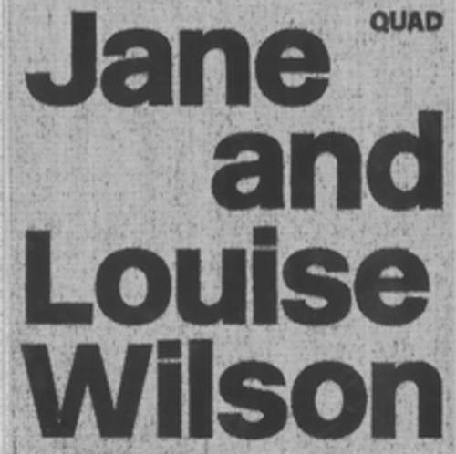 9780955353819: Jane and Louise Wilson
