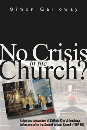 9780955374500: No Crisis in the Church?