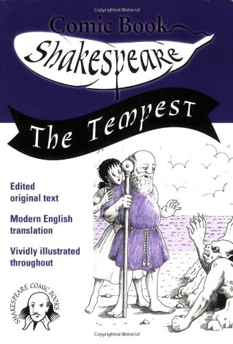 9780955376108: The Tempest: The Cartoon Illustrated Edition (Comic Book Shakespeare)