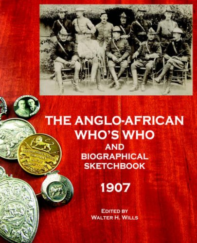 The Anglo-African Whos Who and Biographical Sketchbook, 1907