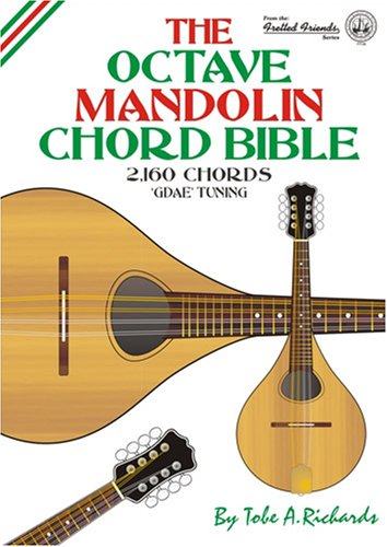 9780955394454: The Octave Mandolin Chord Bible: GDAE Standard Tuning 2, 160 Chords (Fretted Friends)