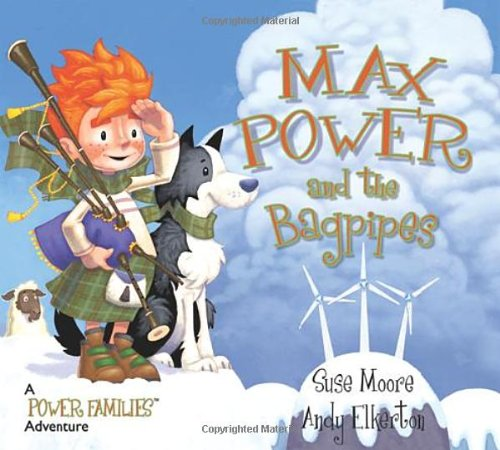 9780955429613: Max Power and the Bagpipes: A Power Families Adventure