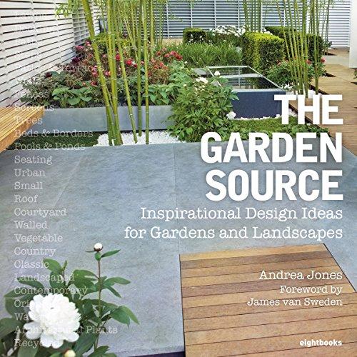 9780955432279: The Garden Source: Inspirational Design Ideas for Gardens and Landscapes. Andrea Jones, James Van Sweden