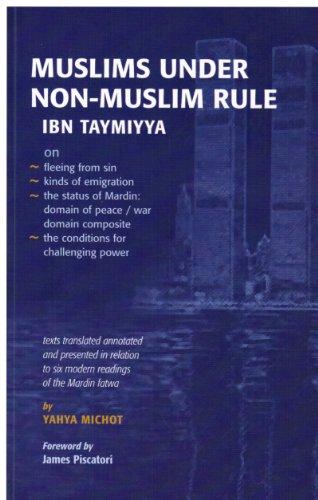 9780955454561: Muslims under non-Muslim Rule. Ibn Taymiyya