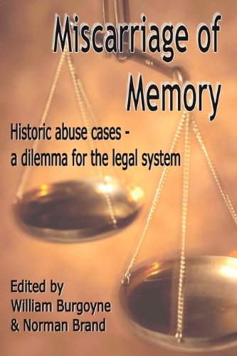 9780955518416: Miscarriage of Memory Historic Abuse Cases