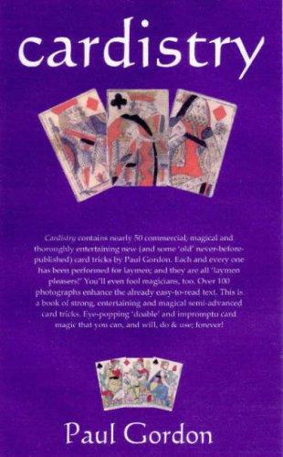 9780955525629: Cardistry: 52 Impromptu Card Tricks by Paul Gordon